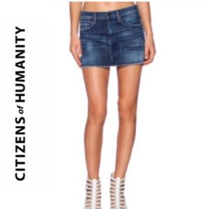 Citizens of Humanity Dunaway Jean Skirt